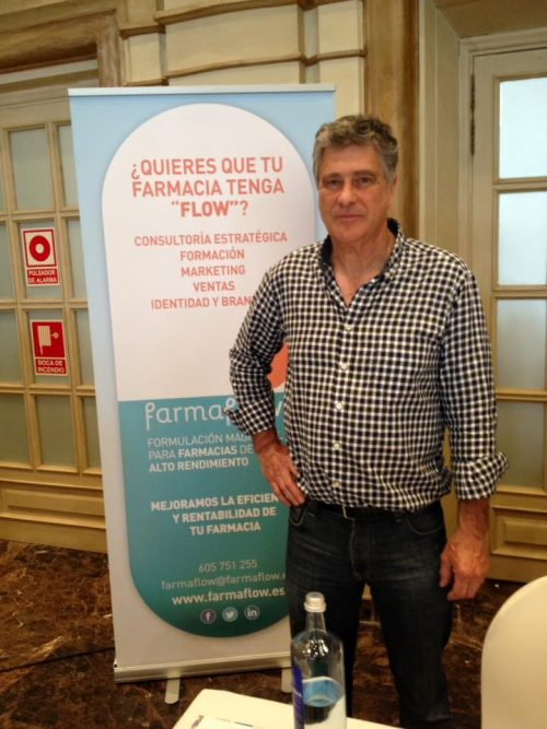 Antonio Torres Stand FarmaFlow